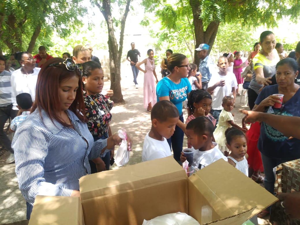 Alcaldía municipal de Dajabón realiza tarde infantil en comunidad Palo blanco